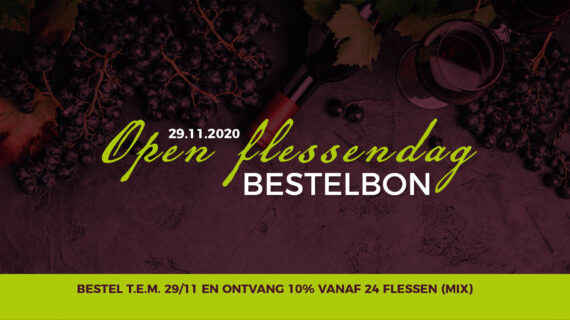 Open Flessendag 29/11